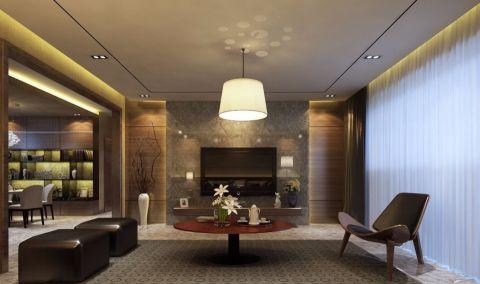 现代风格168平米3房2厅房子装饰效果图