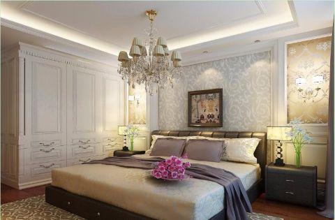 卧室背景墙欧式风格效果图