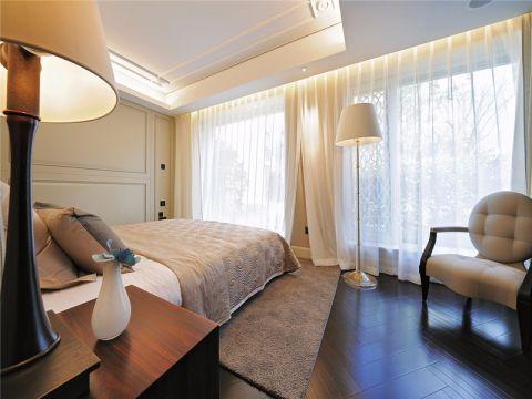 卧室窗帘简约风格装饰效果图