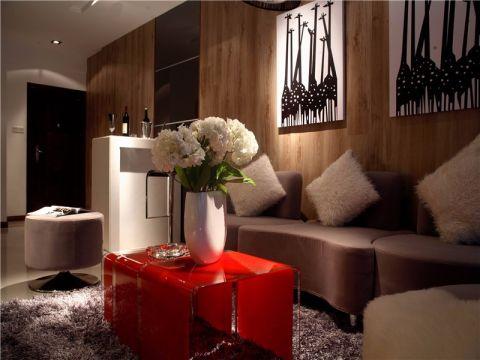 客厅照片墙简约风格装饰设计图片