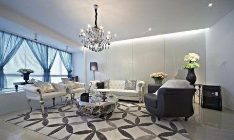 北欧风格180平米大户型房子装饰效果图
