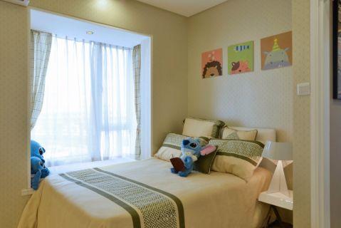 欧式风格95平米小户型室内装修效果图