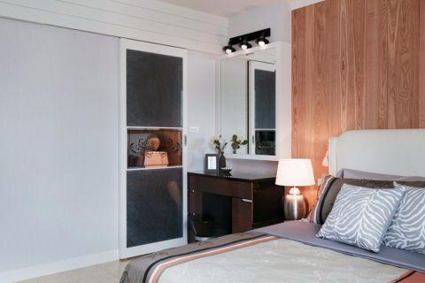 卧室黄色背景墙现代风格装饰效果图