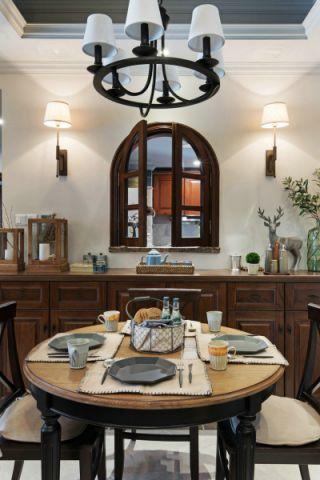 餐厅吊顶美式风格效果图