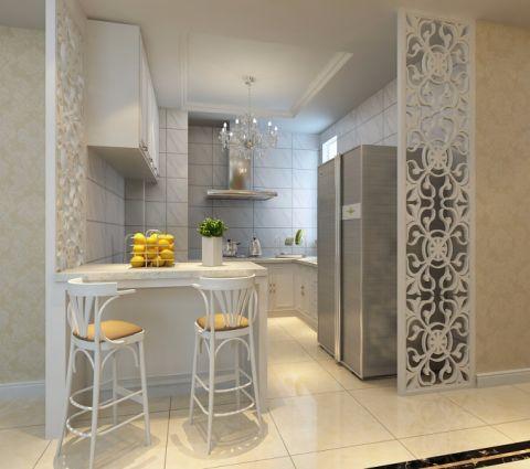 厨房隔断欧式风格装修设计图片
