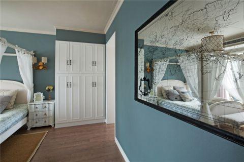 卧室走廊美式风格装潢效果图