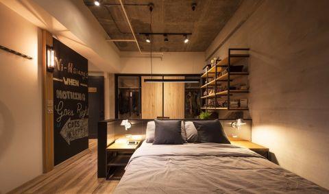 卧室吊顶后现代风格装修设计图片