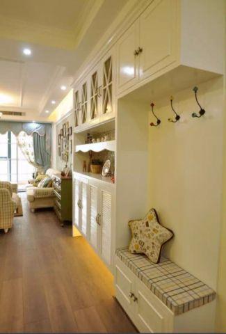田园风格90平米两房两厅新房装修效果图
