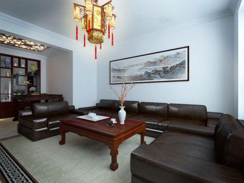 客厅茶几中式风格装饰图片