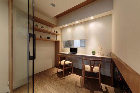 南湖春城现代简约三居室效果图