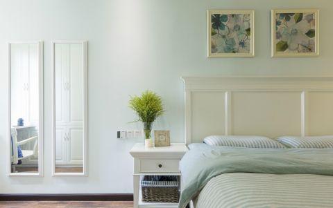 卧室照片墙现代简约风格效果图