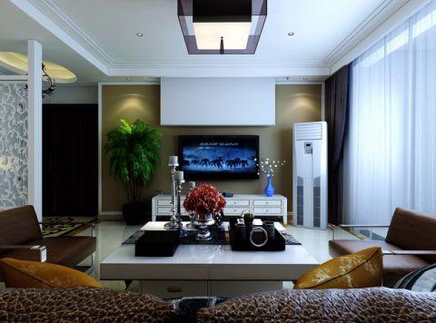 简约风格160平米3房2厅房子装饰效果图