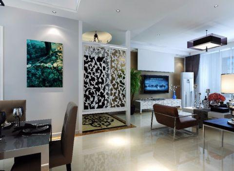 客厅吊顶简约风格装饰图片
