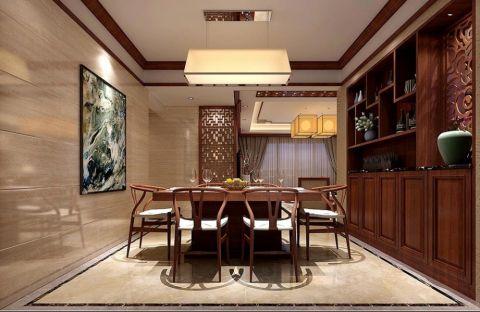 餐厅中式风格装潢设计图片