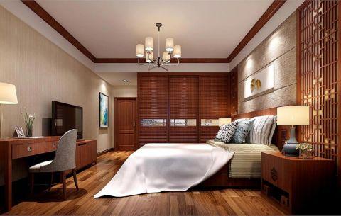 卧室中式风格效果图