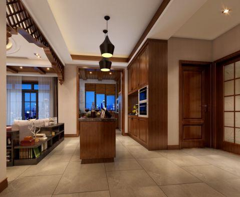 厨房吊顶东南亚风格装饰设计图片