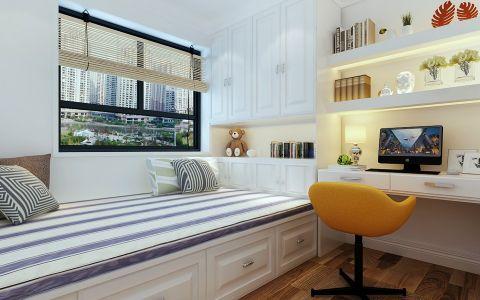 卧室榻榻米现代简约风格装潢设计图片