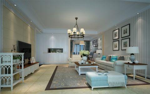 美式风格180平米四室两厅室内装修效果图
