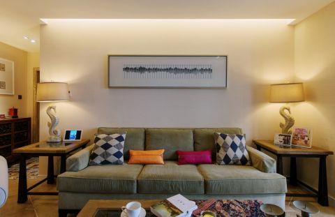 客厅沙发美式风格装饰效果图