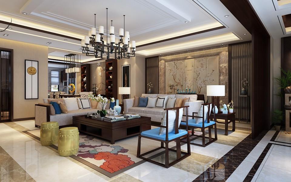 4室2卫3厅300平米中式风格