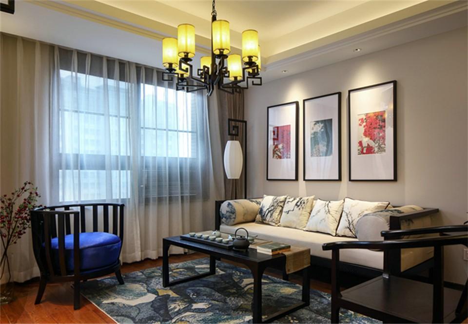 3室2卫2厅139平米新中式风格