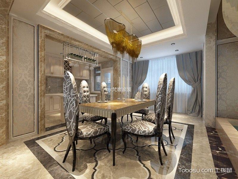 新古典风格290平米别墅新房装修效果图