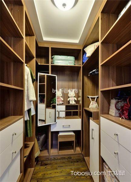 衣帽间 衣柜_美式风格180平米套房室内装修效果图