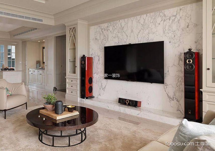 美式风格135平米四室两厅室内装修效果图