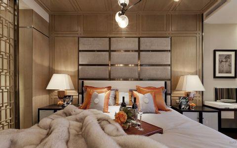卧室背景墙新古典风格装饰设计图片