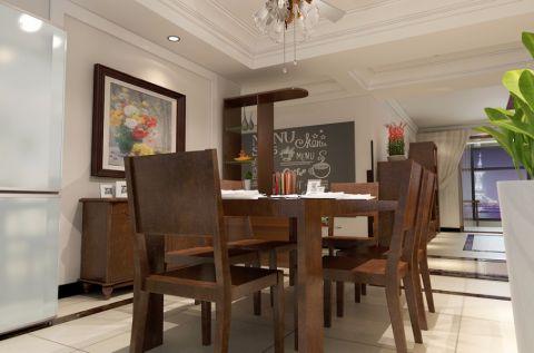 餐厅吊顶简中风格装饰设计图片