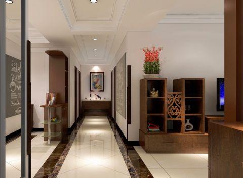 玄关走廊简中风格装潢设计图片