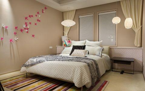 儿童房窗帘美式风格装修图片