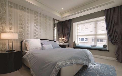 卧室窗帘法式风格装饰效果图