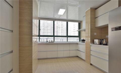 厨房背景墙中式风格装潢效果图