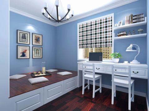 简约风格140平米三室两厅室内装修效果图