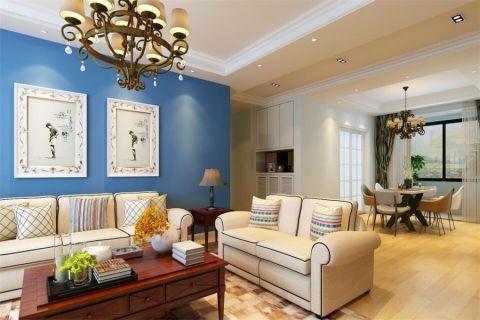 客厅门厅简约风格效果图