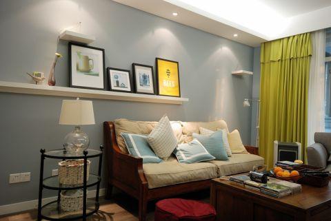 金葡萄家园美式三居室效果图