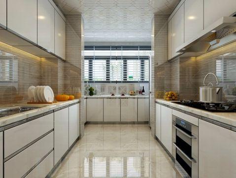 厨房窗帘现代简约风格效果图