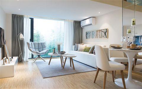 北欧风格125平米三室两厅室内装修效果图