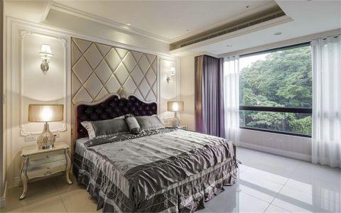 卧室床头柜简欧风格装潢图片