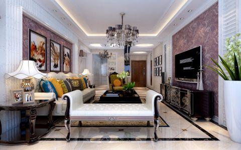 现代简约风格160平米3房2厅房子装饰效果图