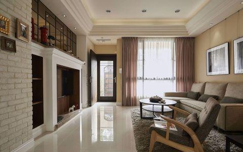 简约风格170平米大户型室内装修效果图