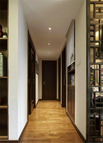 玄关吊顶新中式风格装饰图片