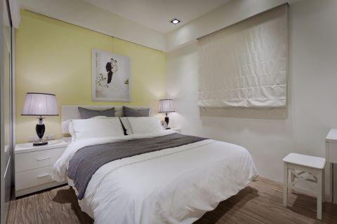 卧室背景墙北欧风格装修效果图
