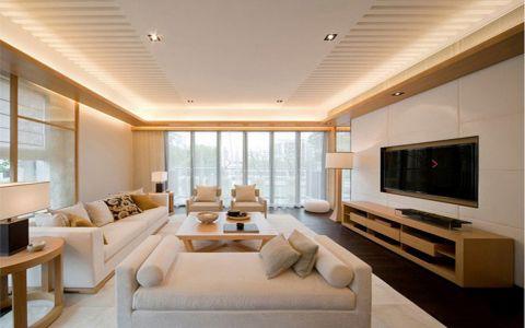 日式风格75平米两房两厅新房装修效果图