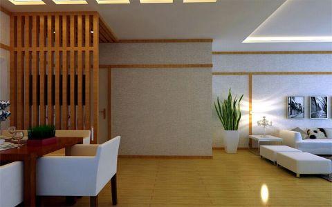 客厅走廊日式风格装修设计图片