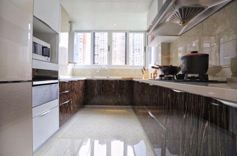 厨房橱柜现代简约风格装修设计图片