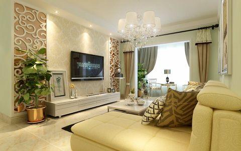 简约风格127平米大户型室内装修效果图