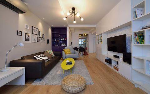 现代简约风格180平米别墅室内装修效果图