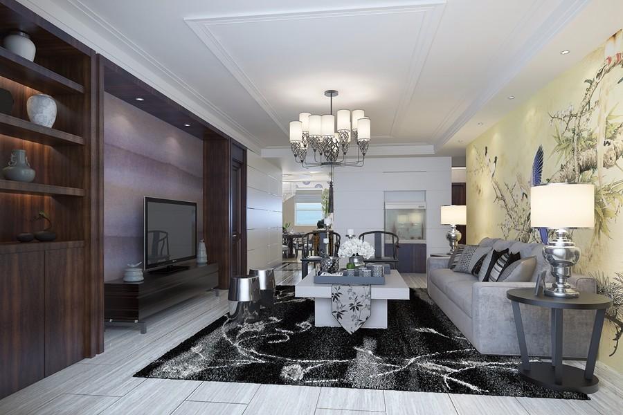 3室1卫1厅170平米新中式风格
